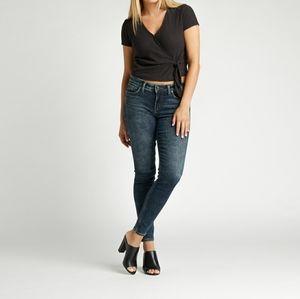 Silver Elyse skinny jean